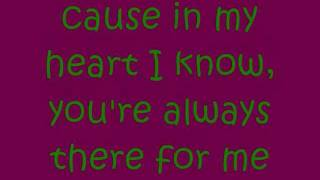 Mariah Carey - There For Me (lyrics on screen)