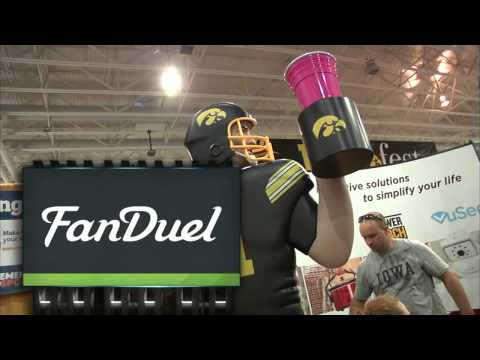 9/5/2015 FB Illinois State at IOWA Fan Duel Billboard