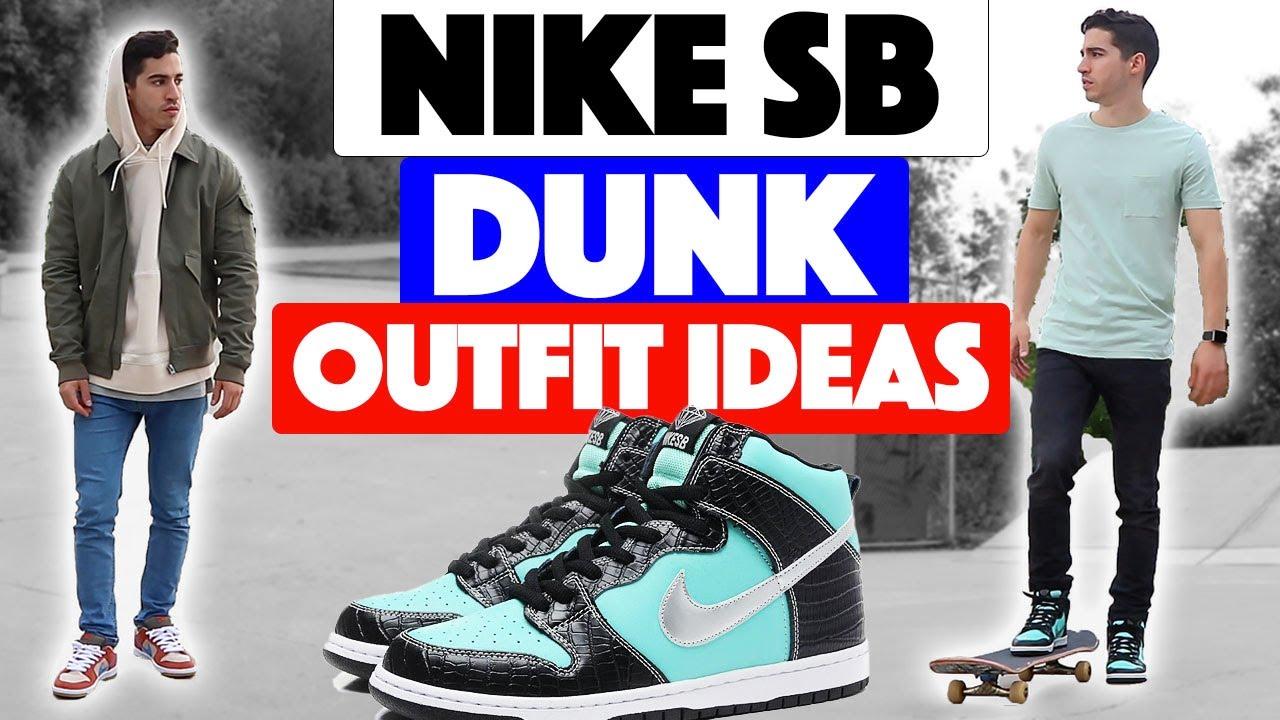 naprawdę wygodne wyprzedaż hurtowa sklep internetowy HOW TO STYLE: Nike SB Dunk low & high (outfit ideas)