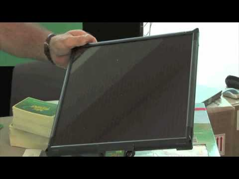 Solar Panels Battery Chargers With Built-in Controller