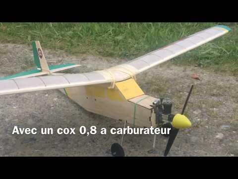 rc plane Piaf cox 0,8 sure start