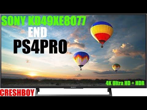 Sony KD 49 XE8077 и PS 4 PRO