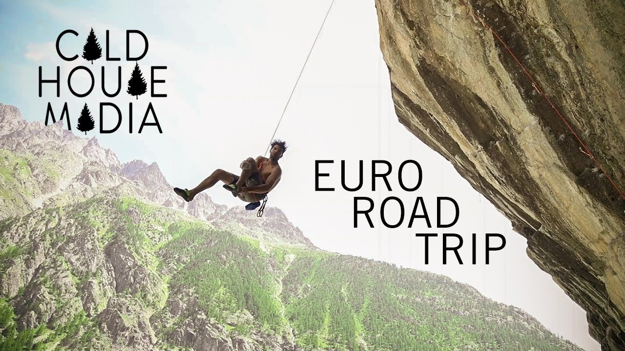 EURO CLIMBING TRIP (Josh and Cha Style) | Cold House Media Vlog 97