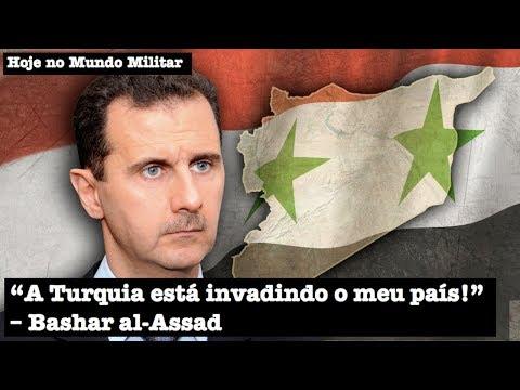 """""""A Turquia está invadindo o meu país!"""", Bashar al-Assad"""