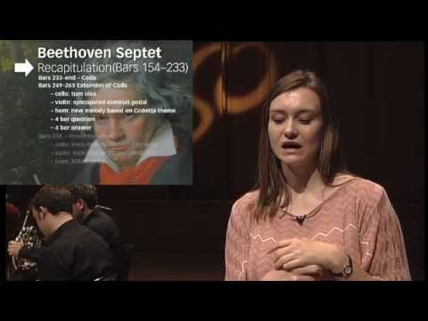 Beethoven Septet in E-flat, Opus 20, first movement  - LSO Discovery A Level Seminar 2012