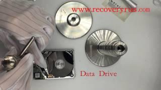 WD Slim HDD Motor Unrelease and Platter Swap