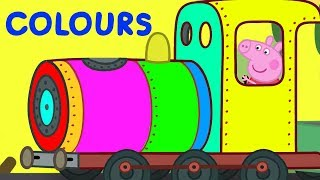 Peppa Pig | Learn Colours With Peppa Pig | Learn With Peppa Pig