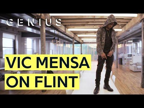 "Vic Mensa Breaks Down The Flint Water Crisis & ""Shades Of Blue"""