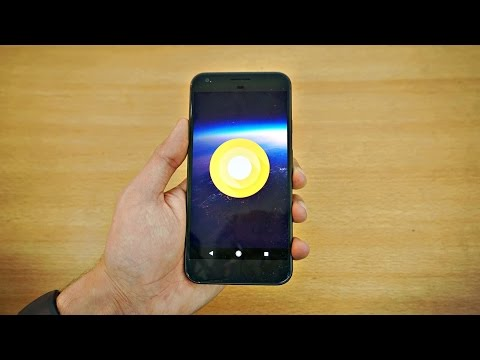 Android O Developer Preview Google Pixel XL Full...