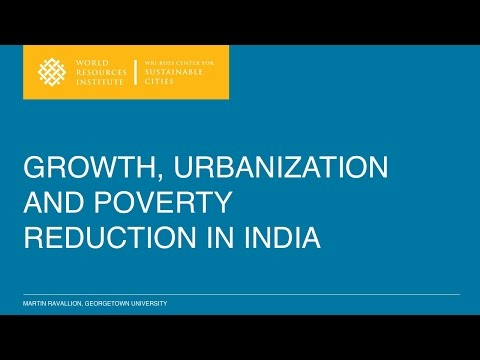 Growth, urbanization, and poverty in India: interview and presentation — Martin Ravallion