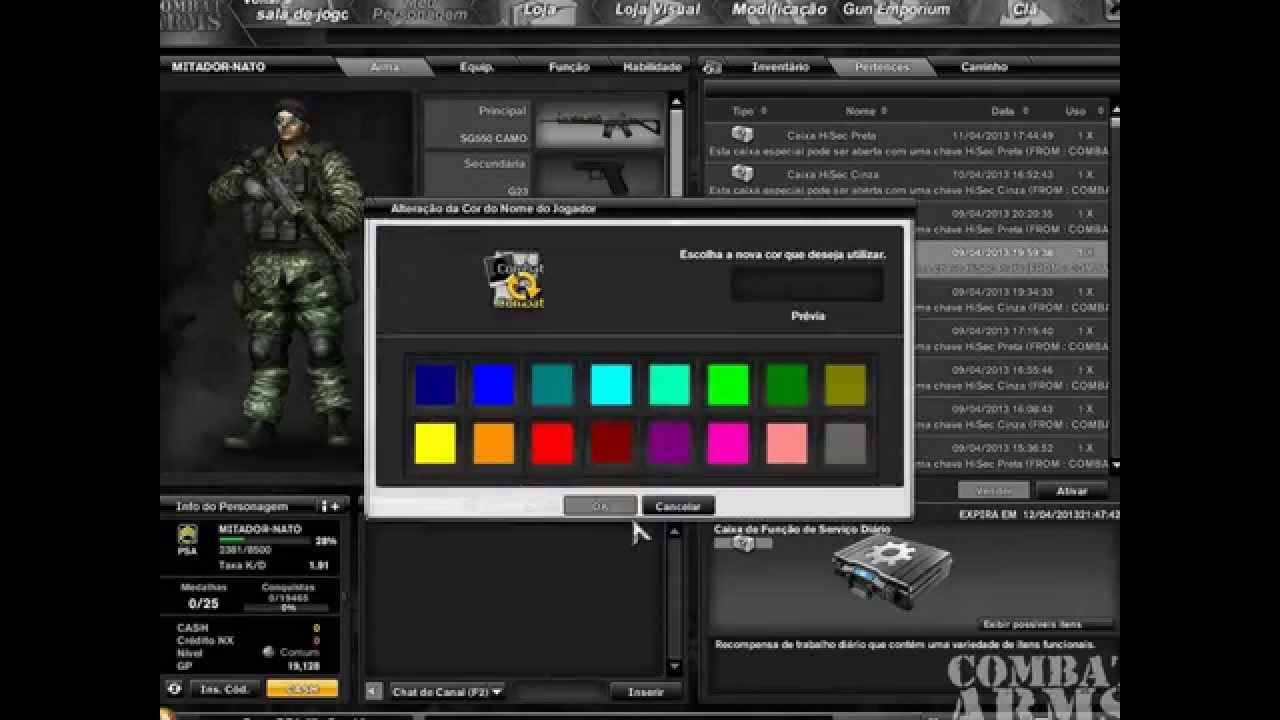 hacker para combat arms atualizado 2013