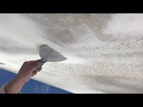 People Scraping off Popcorn Ceilings Compilation