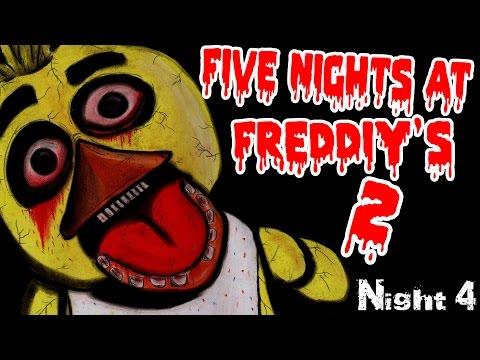 видео: ХОЧЕШЬ ПОИГРАТЬ? - five night at freddy's 2 - Ночь 4