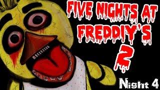 ХОЧЕШЬ ПОИГРАТЬ? - Five Night at Freddy's 2 - Ночь 4
