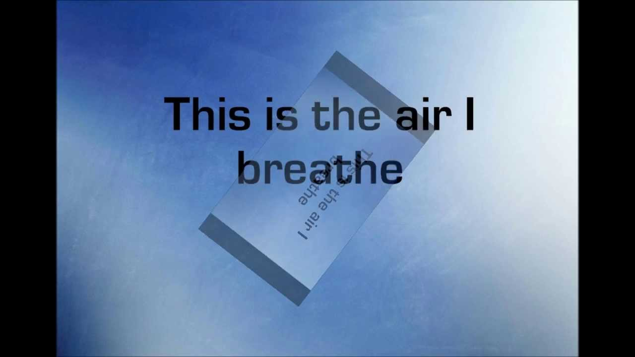 Air I Breathe Byron Cage An Invitation To Worship Youtube