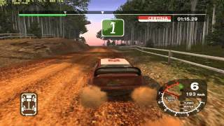 Colin McRae Rally 2005 PC Gameplay e5300 @3.6GHz ATi 5770