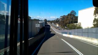 Western Sydney Buses T-way T80 Trip Hassall To Finlayson Stations