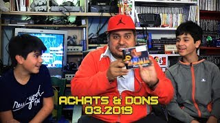(EP66) Achats & Dons Mars 2019