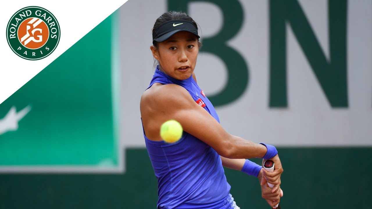 picture Zhang shuai french open tennis tournament in roland garros paris