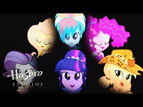 Trailer do filme My Little Pony: Garotas de Equestria - Rainbow Rocks