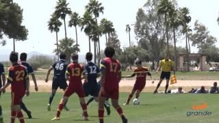 Real Salt Lake-Arizona Academy U-15/16 vs. Santa Cruz Breakers Academy Highlights | May 9, 2015