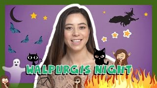 German Holiday Words with Alisa - Walpurgis Night
