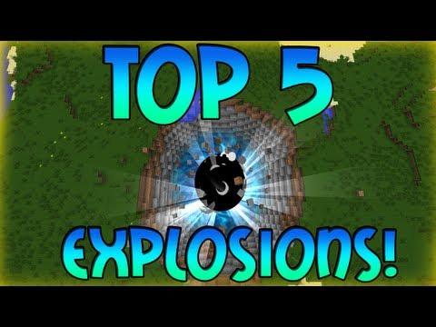 TOP 5: Coolest ICBM Mod Explosions!