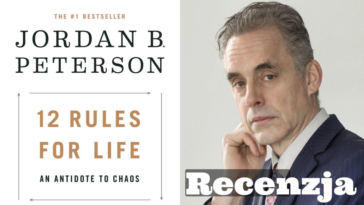 ekskluzywne oferty przed Sprzedaż Wielka wyprzedaż 12 Zasad Życia Jordan Peterson - Książki Które Warto Czytać #90