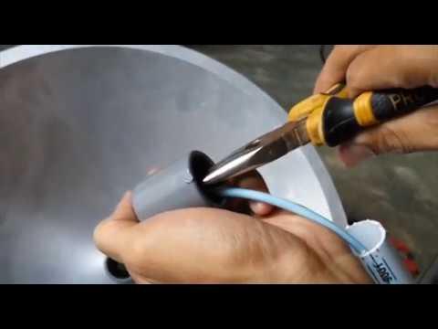 Membuat Wajanbolic Sendiri Untuk Antena TV | Kreatif
