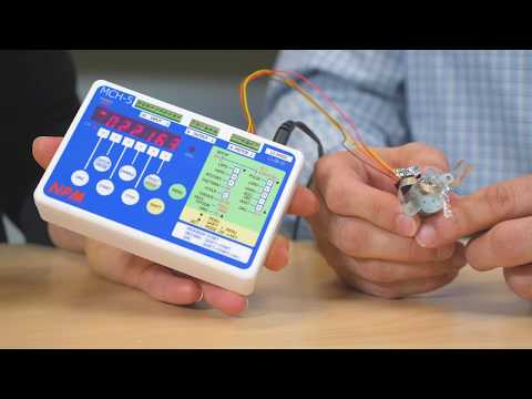 Nippon Pulse Motion Checker controllers for two-phase stepper motors