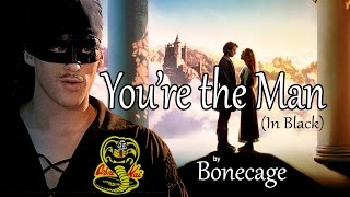 flushyoutube.com-You're the Man (In Black) - Princess Bride Parody of Karate Kid Fight Song