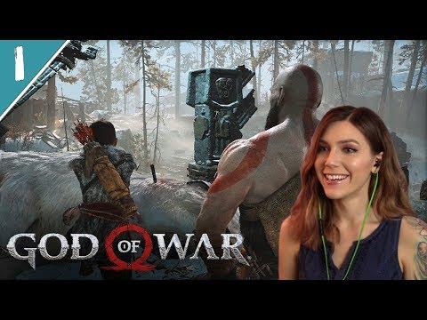 Becoming Father Kratos | God of War Pt. 1 | Marz Plays