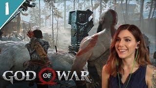 Becoming Father Kratos   God of War Pt. 1   Marz Plays