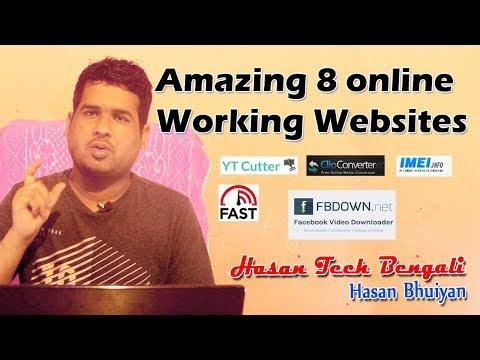 amazing-8-online-working-websites-|-bangla-new-tech-video-|-hasan-tech-bengali