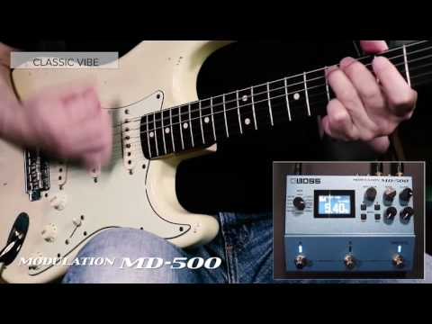 BOSS MD-500 Modulation Sound Preview