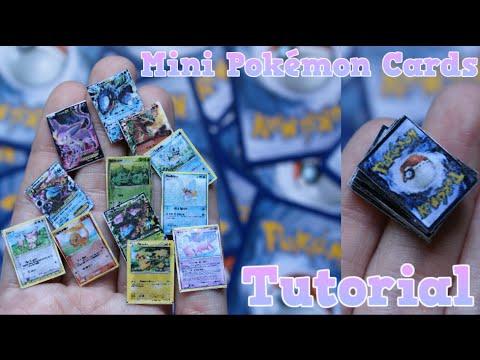 Tutorial | Mini Pokemon Cards!