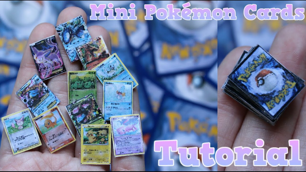 image regarding Pokemon Card Printable named Manual Mini Pokemon Playing cards!