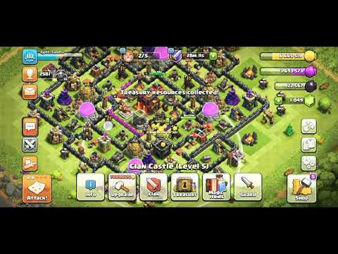 Upgrading Clan Castle To Lvl 6 Coc