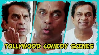 Brahmanandam Best Tollywood Comedy Scenes Dubbed In Hindi - Must Watch!!