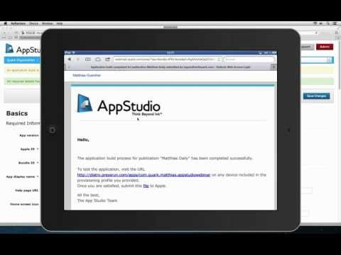 Create your app and publish it to iTunes / App Store (InDesign & QuarkXPress)