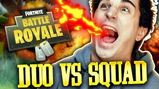 ANIMA E PRO PLAYER NELLE DUO VS SQUAD! FINALE TROPPO DIVERTENTE! Fortnite Battle Royale