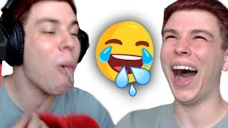 Lachflash: Versuche nicht zu sabbern   Nicht Lachen Challenge
