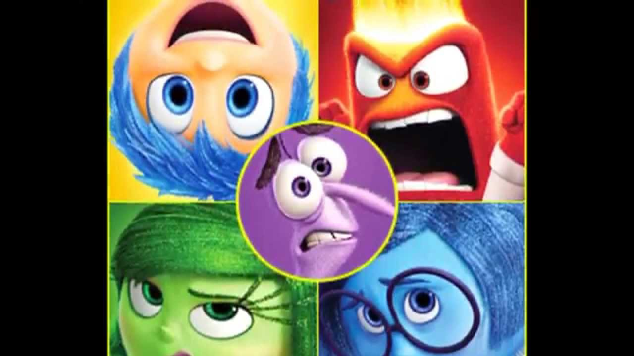 Cartoon Characters Personalities : Inside out character themes based on personality traits