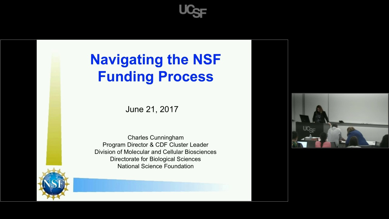 National Science Foundation Presentation: Navigating the NSF Funding Process