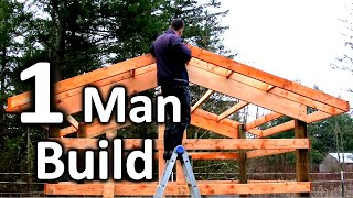 How to Build a Tİny Pole Barn in -5 MINUTES- | Chicken House Plans