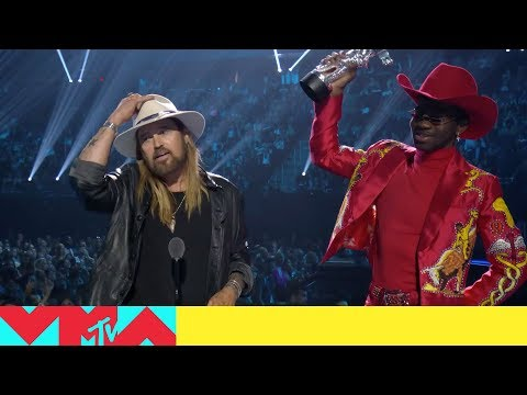 Lil Nas X & Billy Ray Cyrus Win Song of the Year  2019   Awards