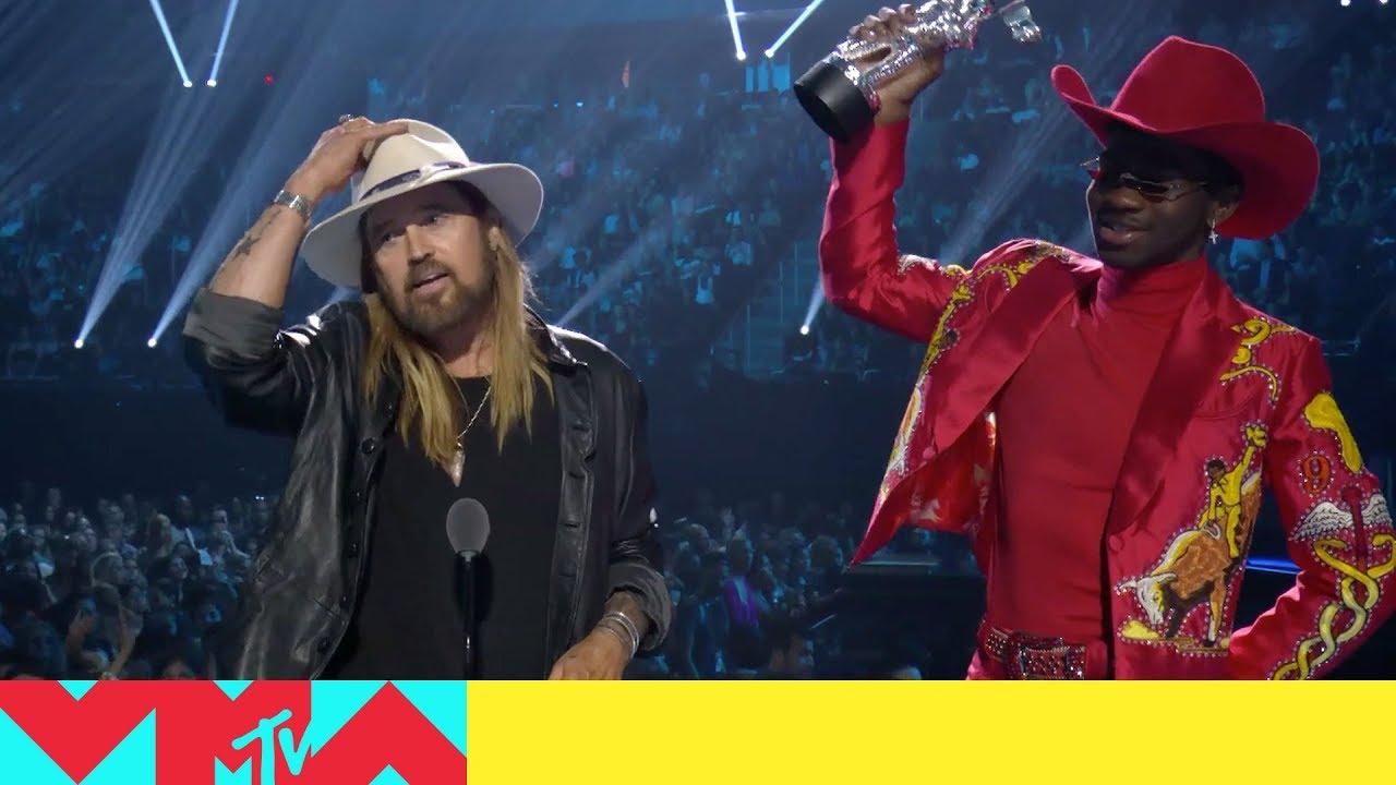 Image result for MTV VMAs 2019 winner Lil Nas X ft. Billy Ray Cyrus