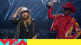 Lil Nas X & Billy Ray Cyrus Win Song of the Year | 2019 Video Music Awards