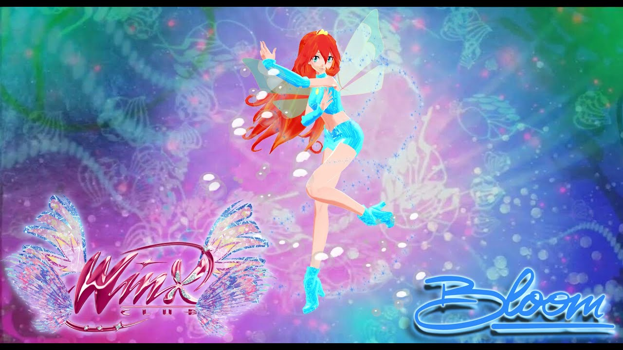 [MMD | Winx Club] Bloom Sirenix 2D