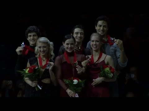 CTNSC 2018 Victory Ceremony Ice Dance